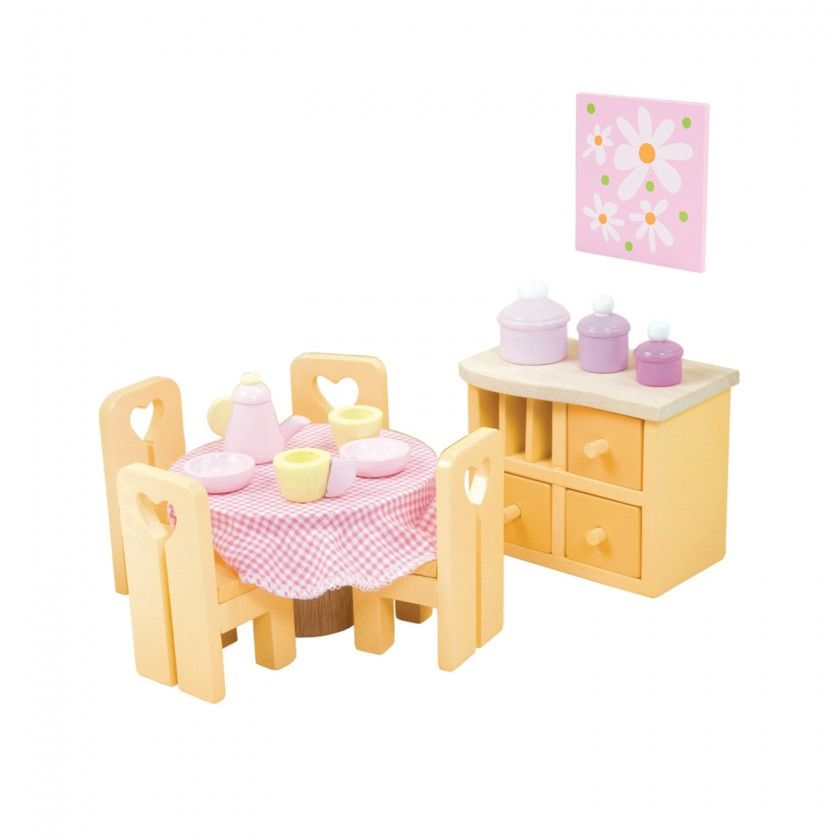 Sugal Plum Dining Room Le Toy Van Wood Toy