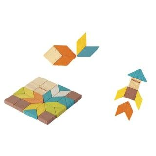 Mosaic Wood Plantoys