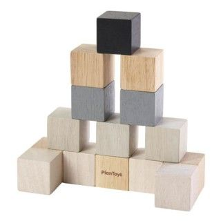 Cubes Wood Plantoys