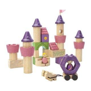 Fairy Tale Wood Blocks Plantoys