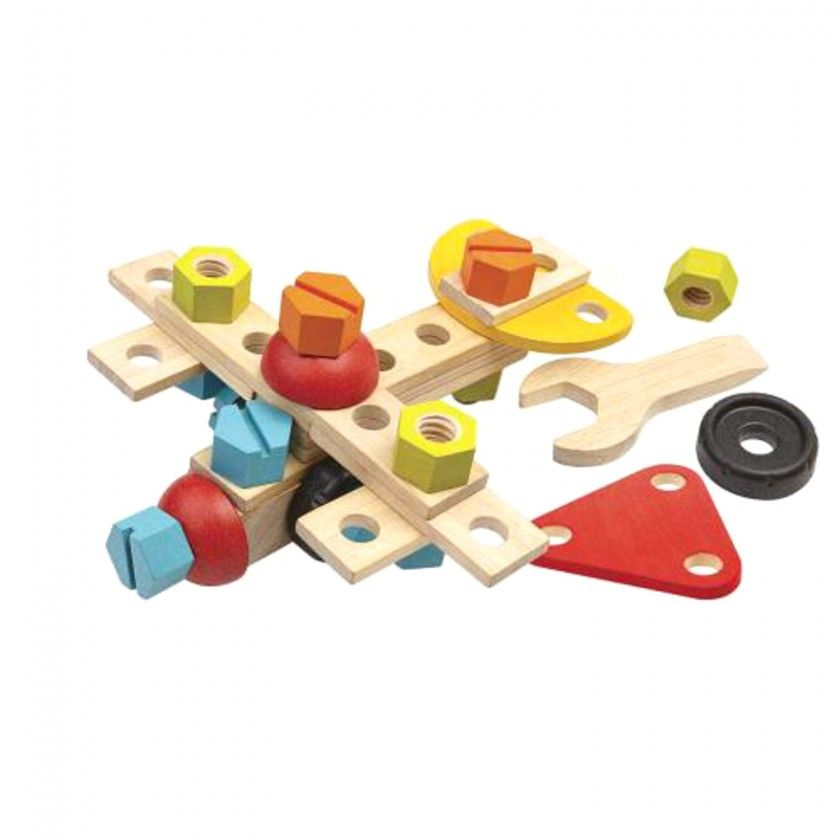Construction Wood Set Plantoys