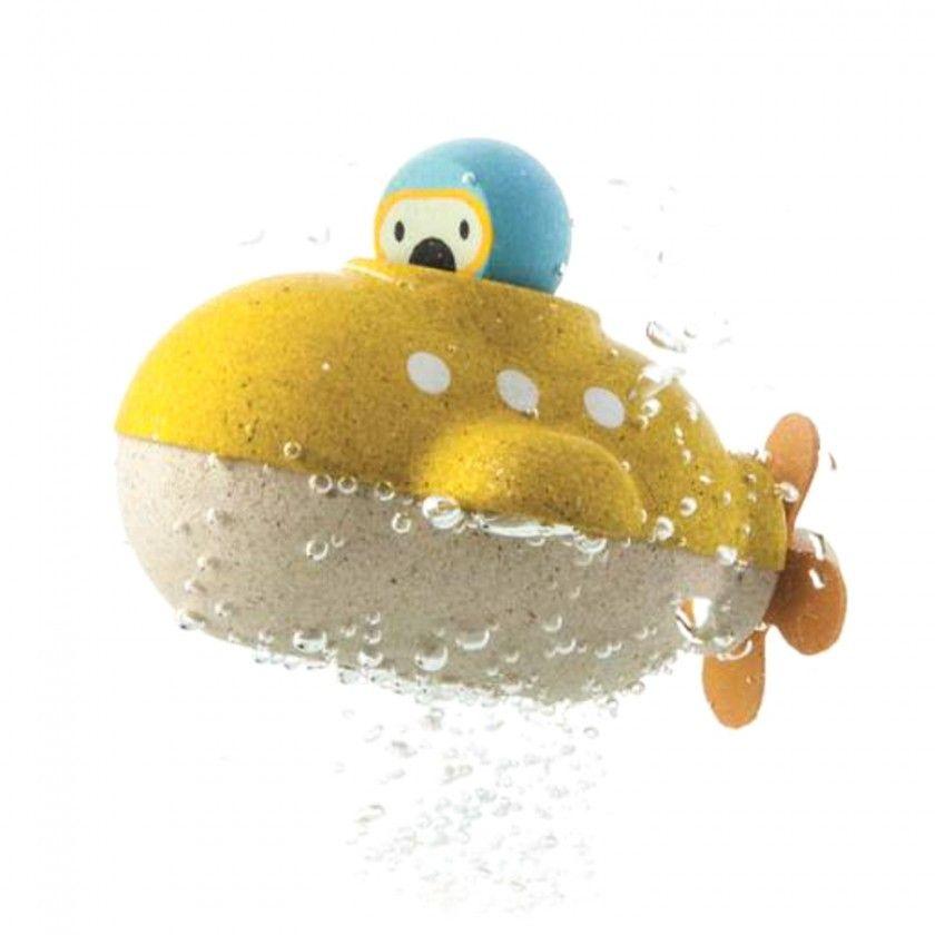 Brinquedo Madeira Plantoys Submarino