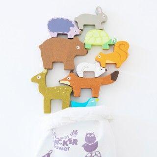 Brinquedo Madeira Le Toy Van Animais da Floresta