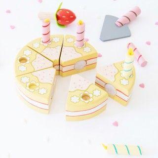 Brinquedo Madeira Le Toy Van Bolo de Anos