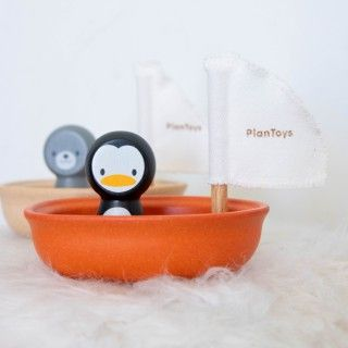 Penguim Floating Boat Plantoys