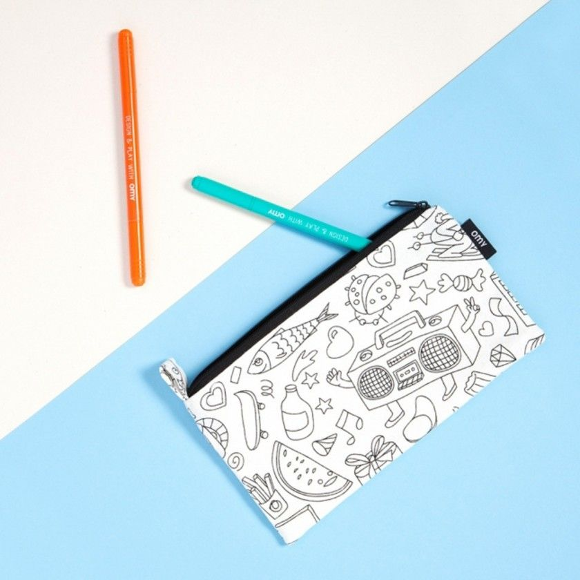 Coloring Pouch Omy