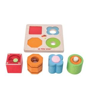 Brinquedo Madeira Le Toy Van Sensorial