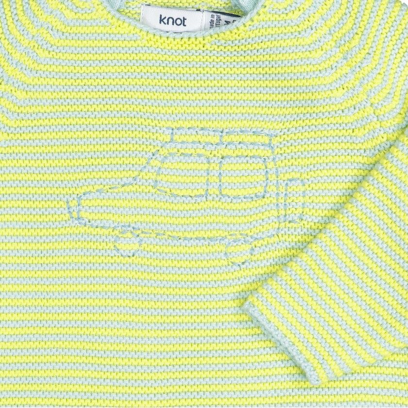Safari Car Knitted Sweater