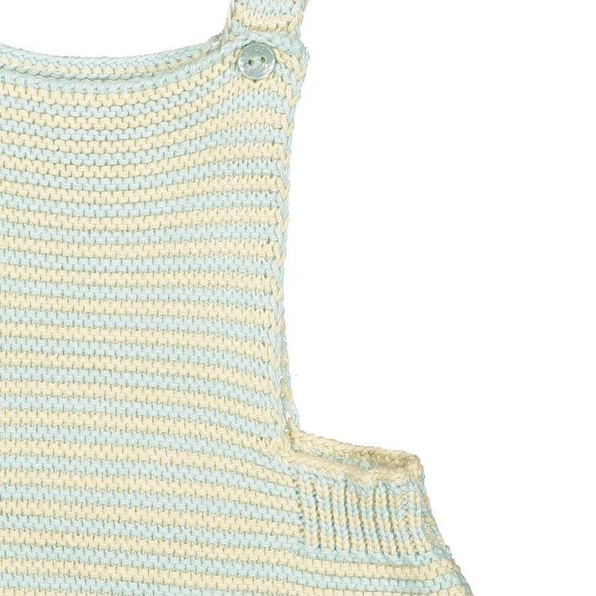 Summer Breeze Knitted Romper