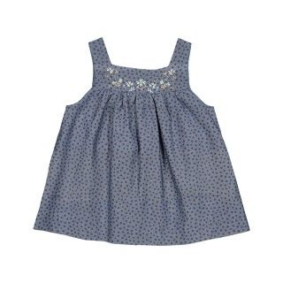 African Dots Pinafore Dress