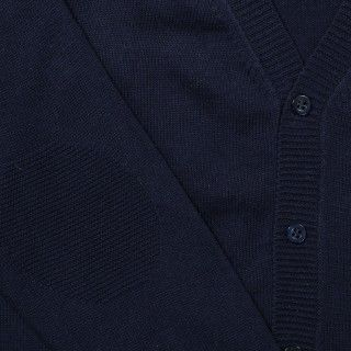 Casaco tricot zig zag