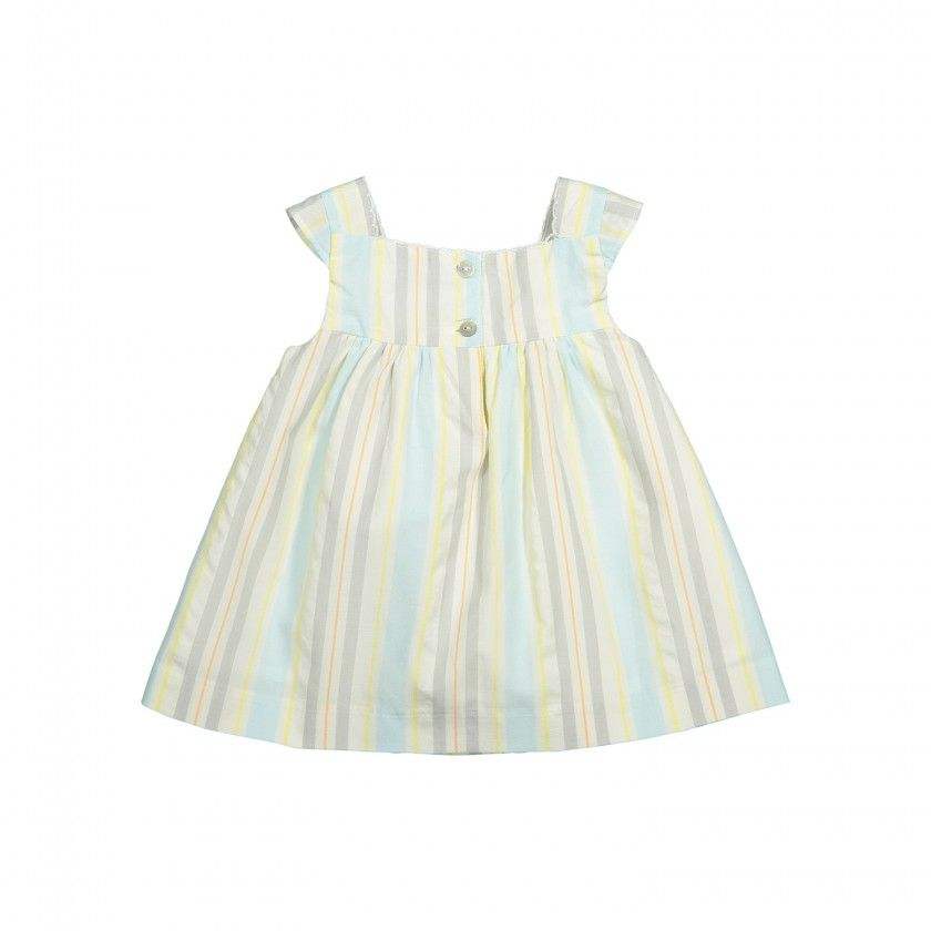 Rhythm Stripes Pinafore Dress