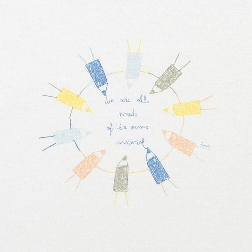 T-shirt crayons