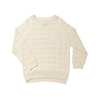 Camisola tricot zig zag