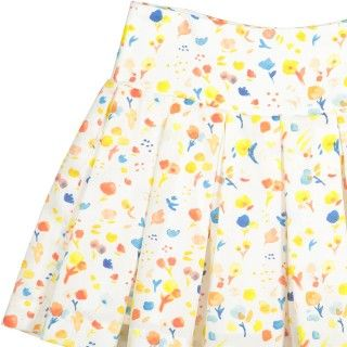 Party flowers skirt