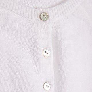 Bolero de festa em algodão