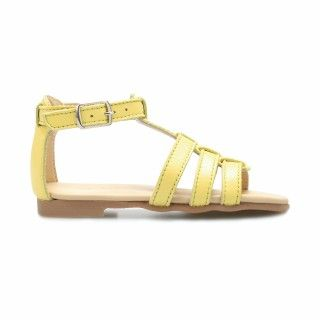 Leather Sandals with elastic