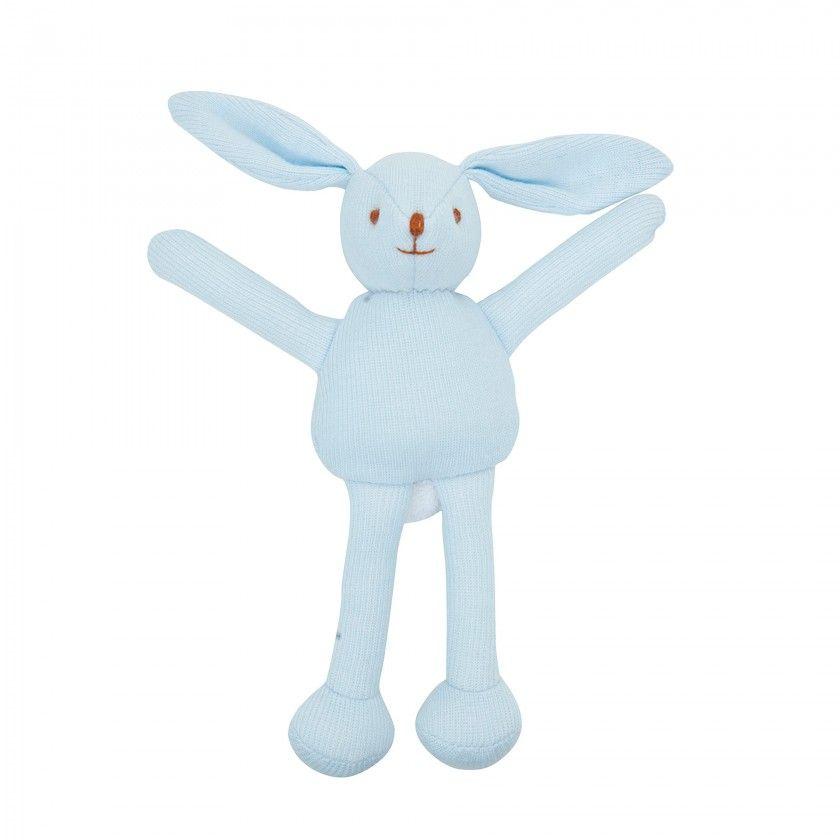 Trousselier Plush Blue Rabbit