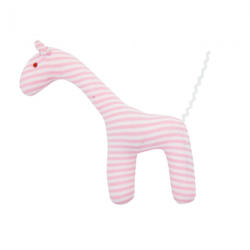 Pink Girafe Trousselier Plush