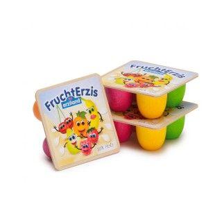 Brinquedo Madeira Erzi Iogurtes Frutas