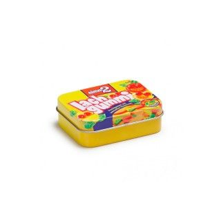 Beech Wood Erzi Lachgummi in a Tin