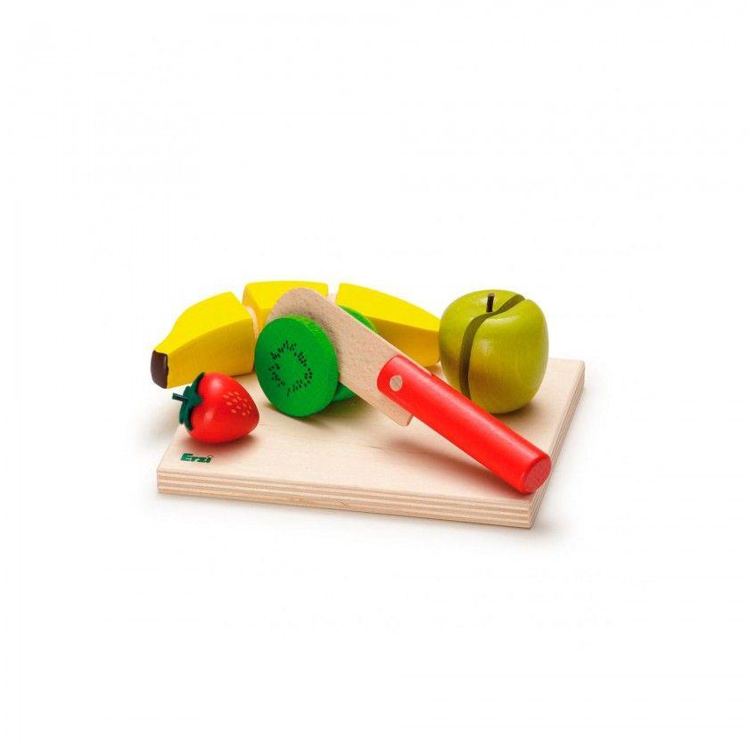 Beech Wood Erzi Fruit Salad Set