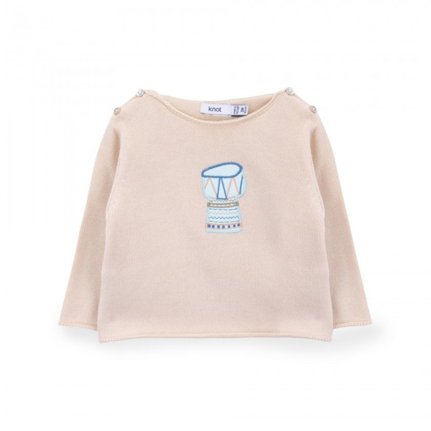 Drum Knitted Sweater