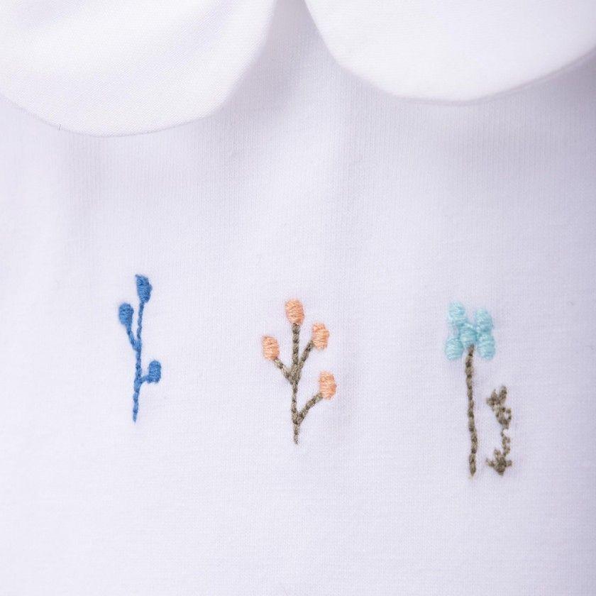 Body tshirt 3 flores