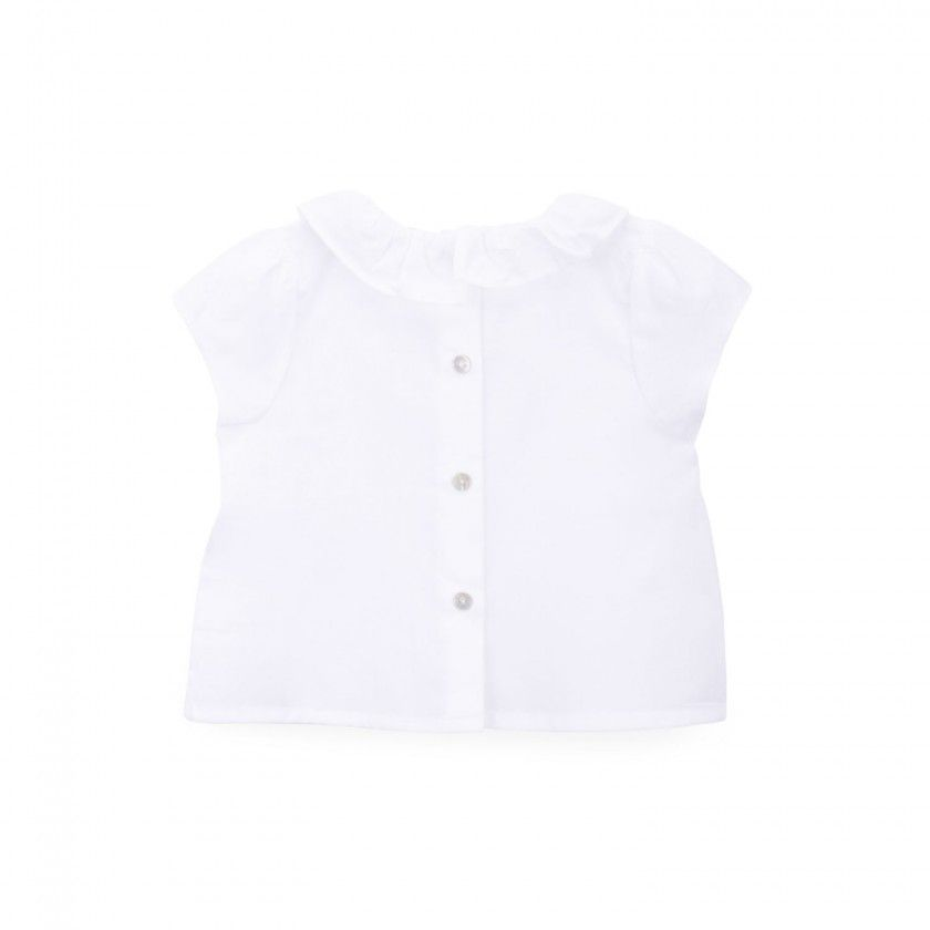 Pierrot Collar Blouse