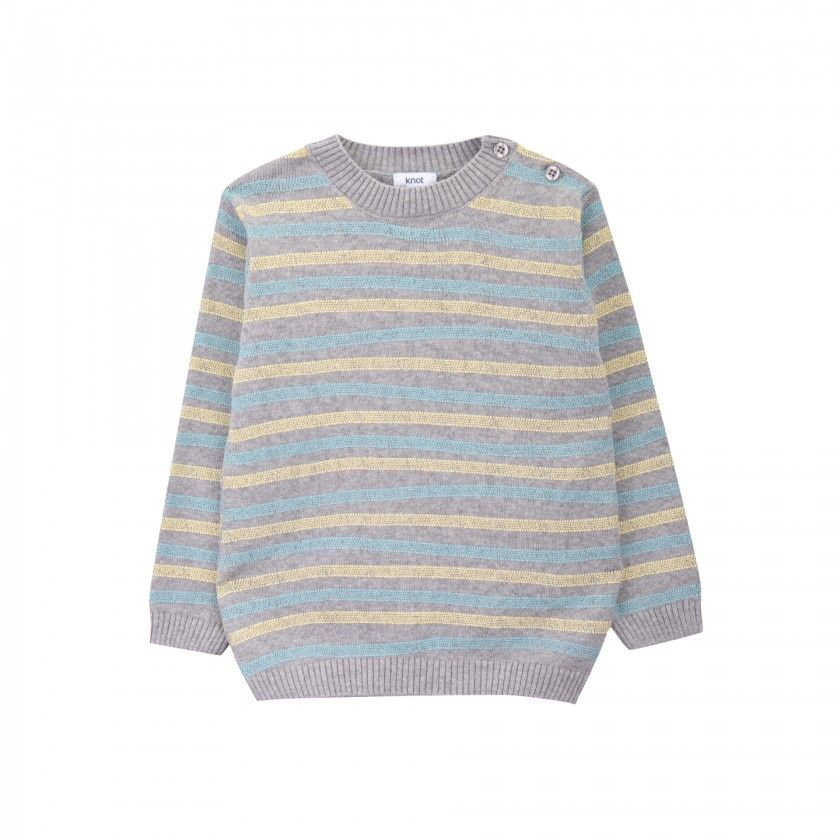 Rails knitted sweater