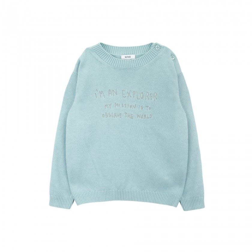 Explorer knitted sweater