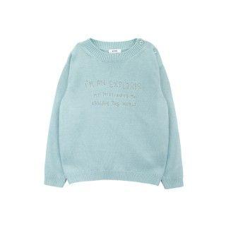 Camisola tricot explorador