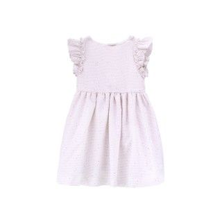 Applied ruffle dress