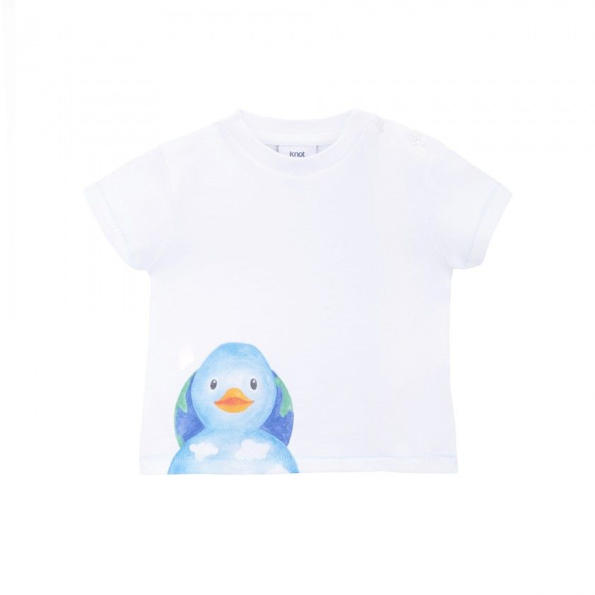 Save the Planet Kit - T-shirt for baby and toy
