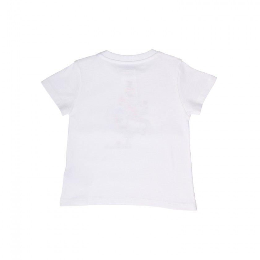 """T-shirt Solidária para bebé """"Eu Seria Mais Feliz Se…"""""""