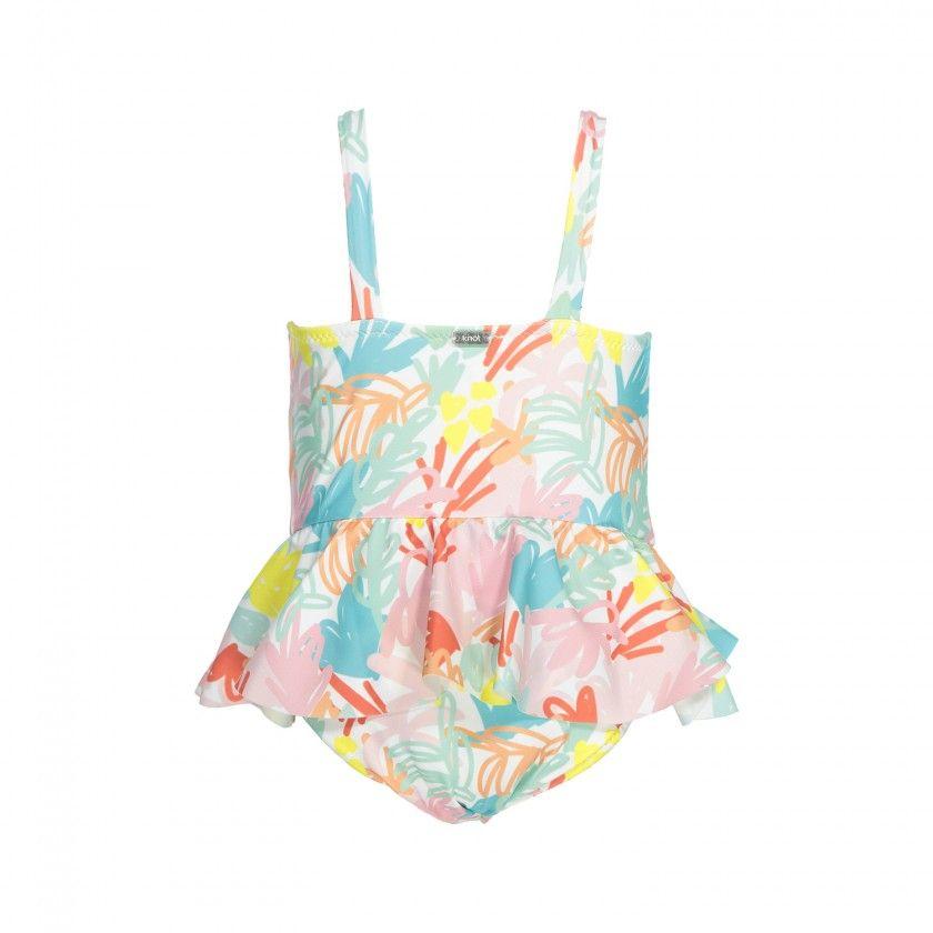 Jungle pink swimsuit