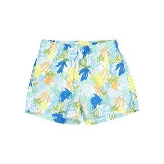 Jungle blue swim shorts