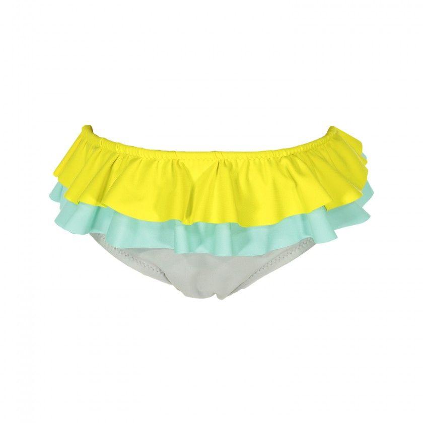 Color block swim bottom