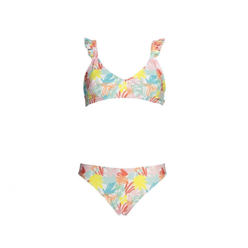 Bikini mum jungle pink