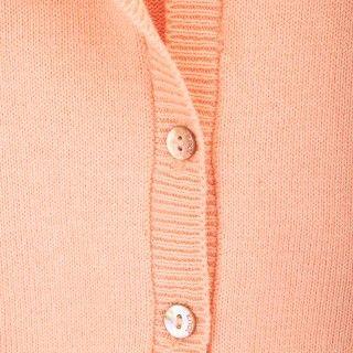 Casaco tricot manga balão