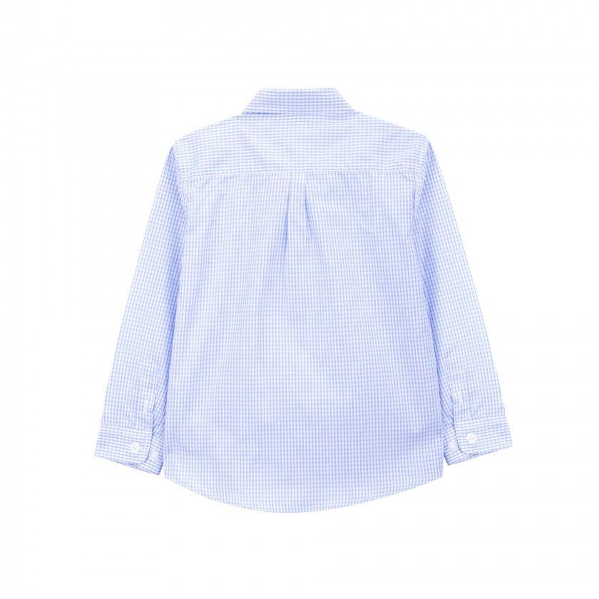 Shirt boy cotton Vichy
