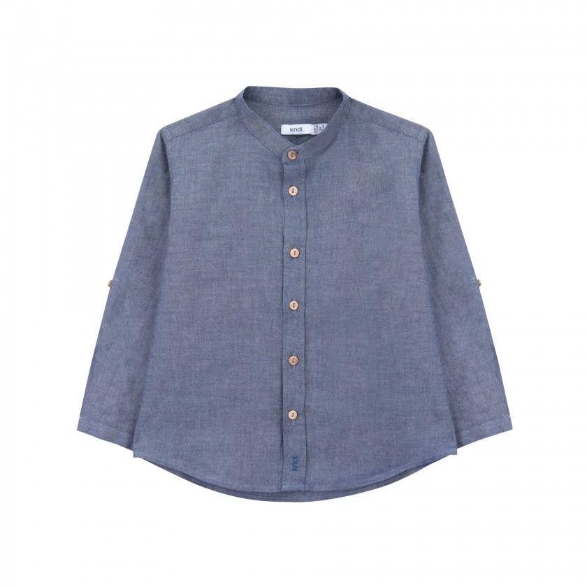 Camisa chambray