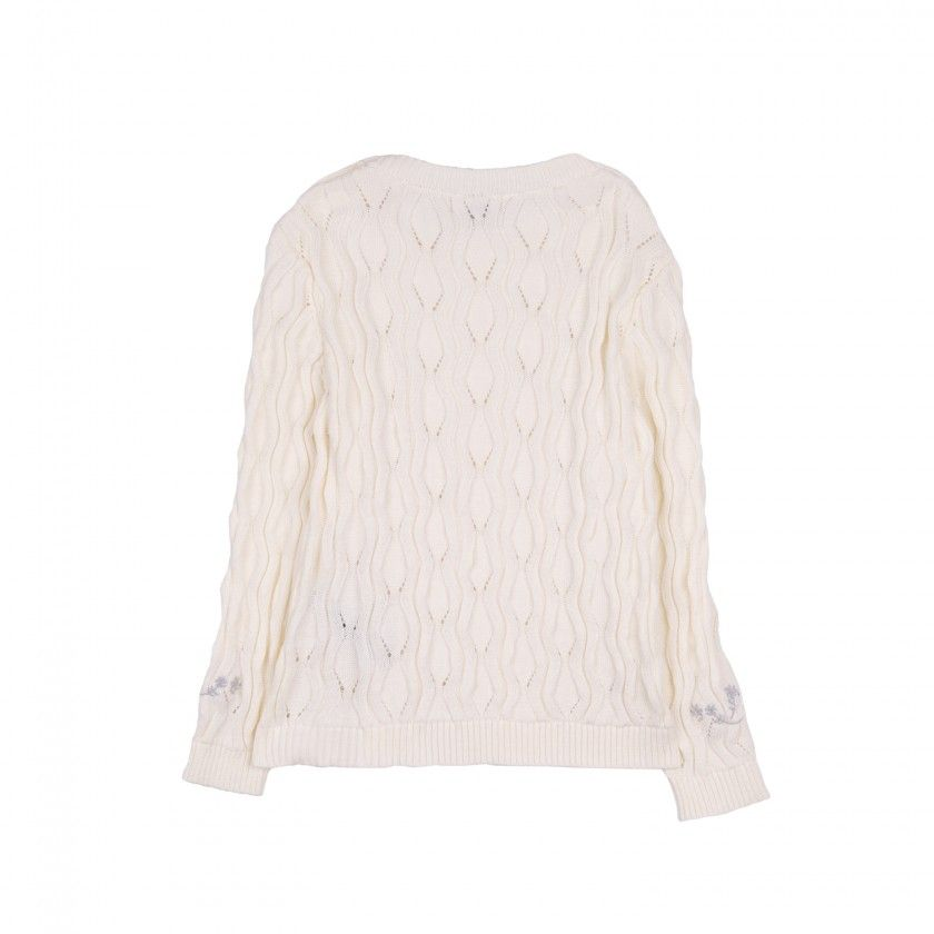 Combs knitted sweater