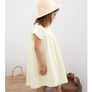 Yellow elephants dress