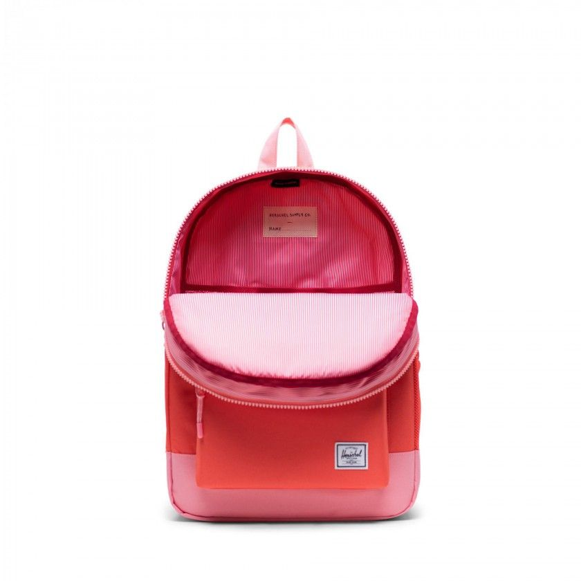 Mochila Heritage Youth 16L Hot Coral/Flamingo Pink