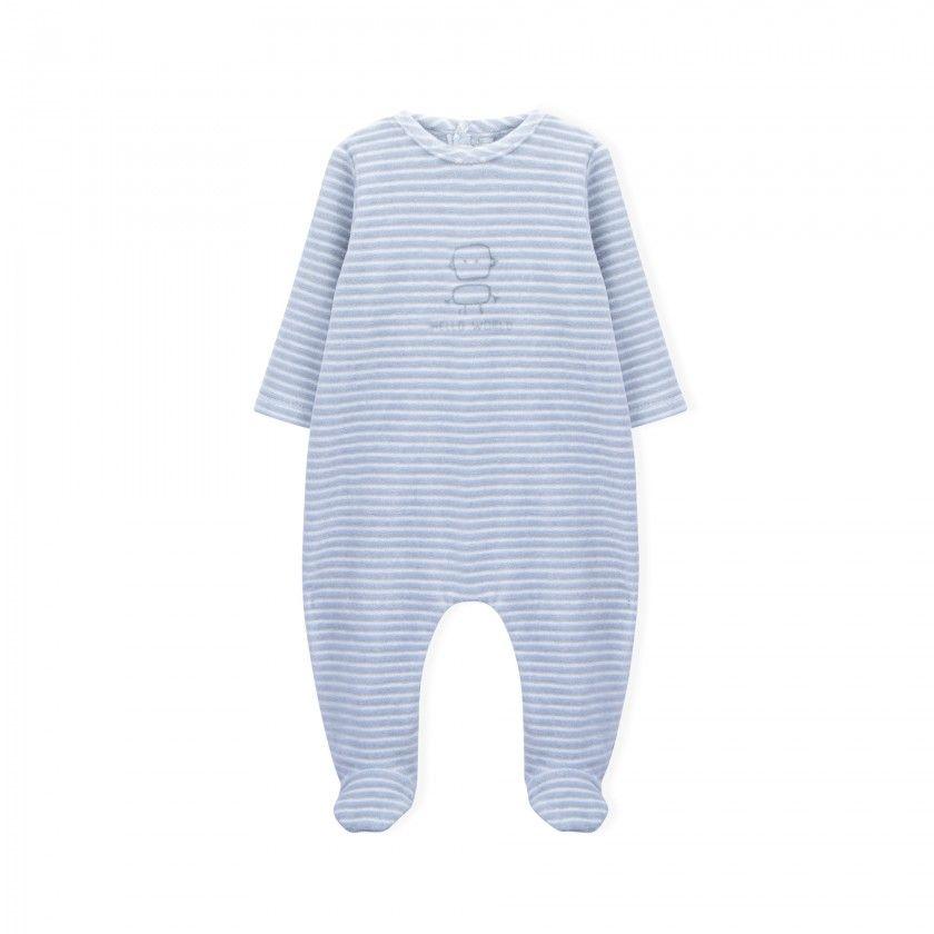 wall-e soft velvet babygrow