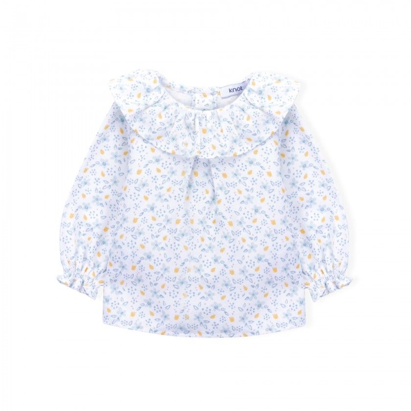 Wild flowers baby blouse