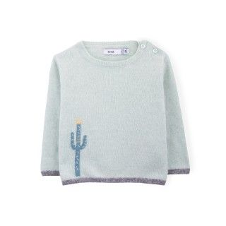 Billy the cactus baby  knitted sweater