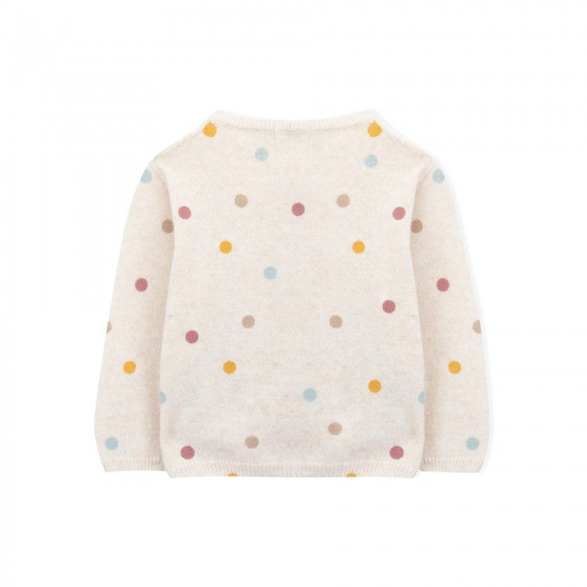Josephine baby  knitted cardigan