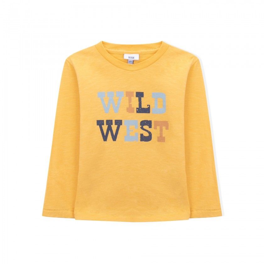 west long sleeve boys t-shirt